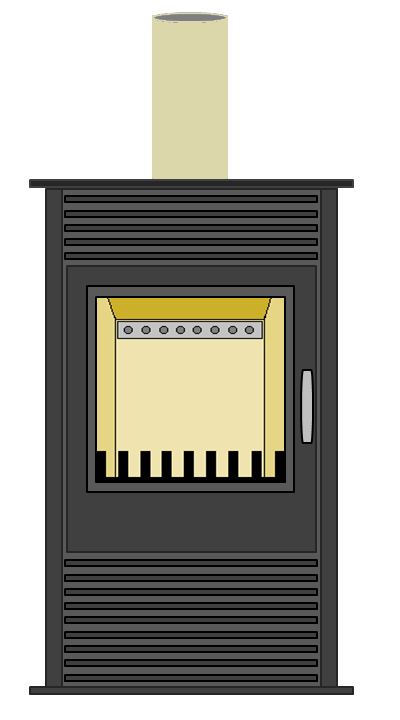 FHT Stove concept - front view